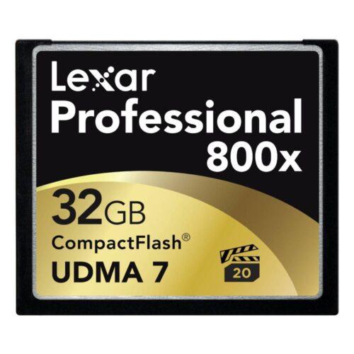 Lexar Professional 800x CF Card 32Gb
